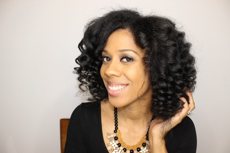 Easy Wand Curls On Natural Hair Curlynikki Natural Hair Care