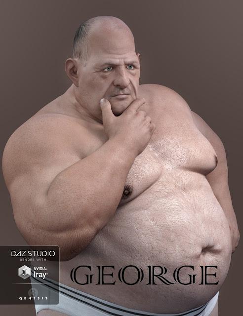 George HD for Genesis 3 Male