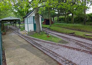 Eaton Park Miniature Railway in Norwich