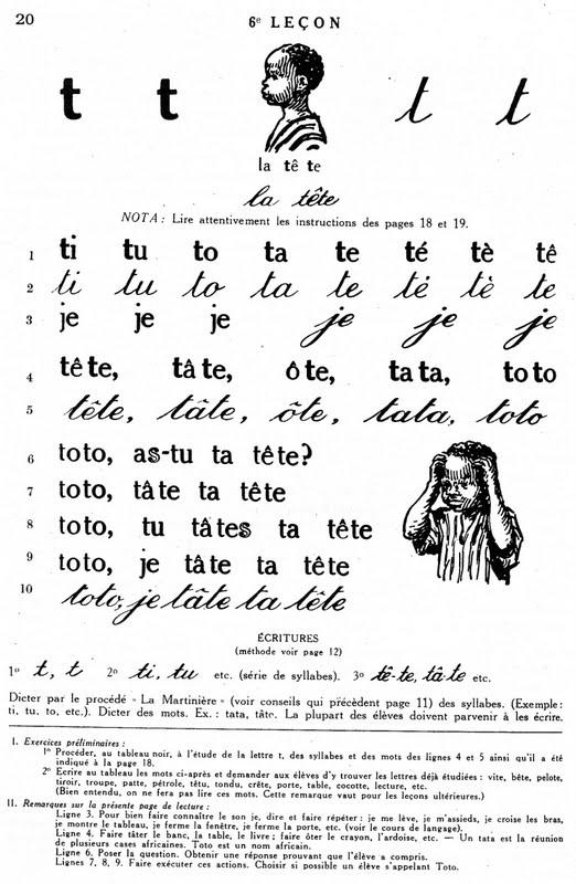 Relativ Manuels anciens: Mamadou et Bineta apprennent à lire, syllabaire  EK73