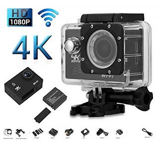 action cam wifi 4k camera sport