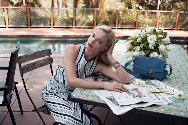 Margaret Zhang's Tory Burch Campaign Starring Kate Bosworth