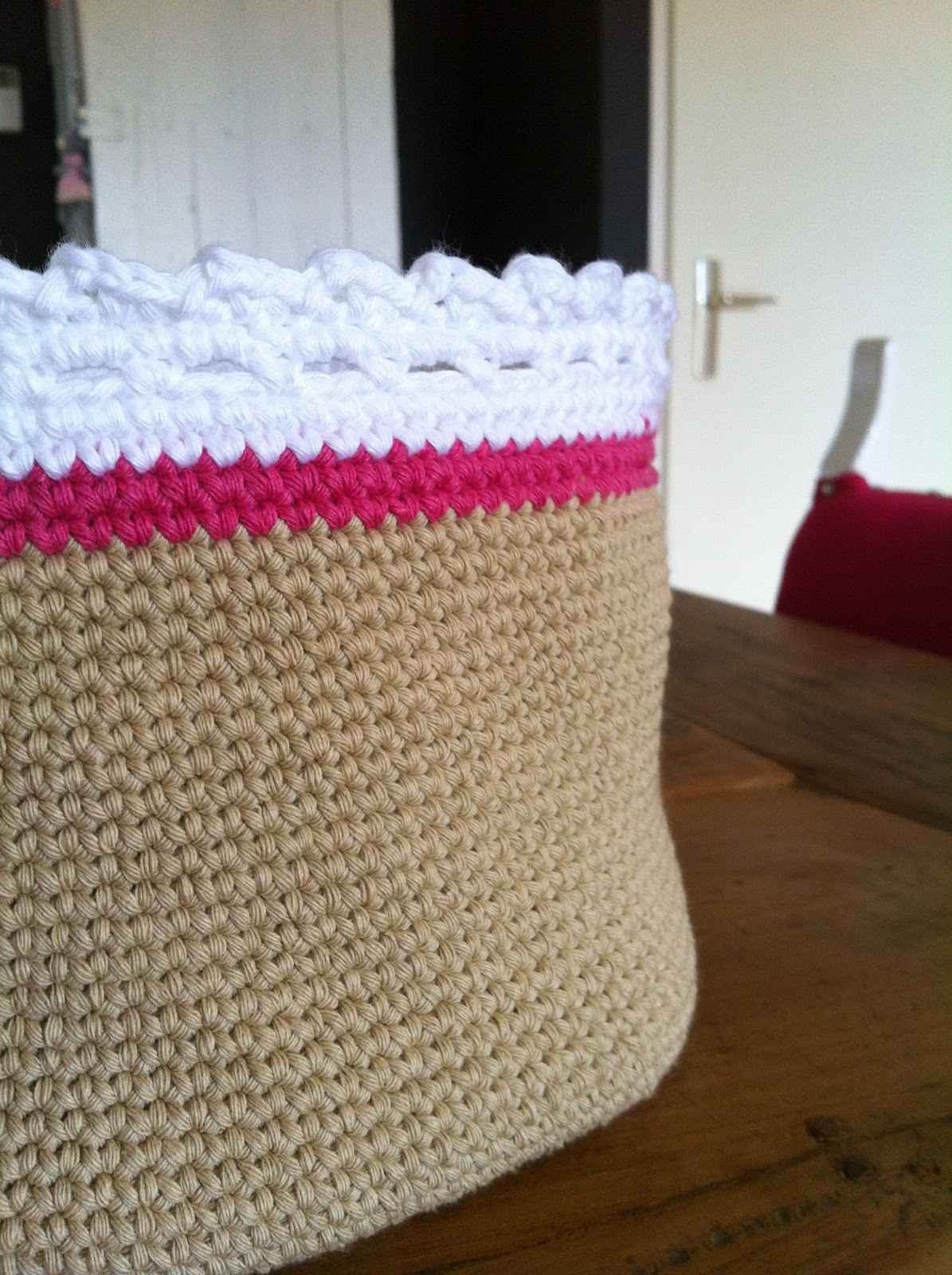 De Haakfabriek Mandjes Patroon Basket Pattern