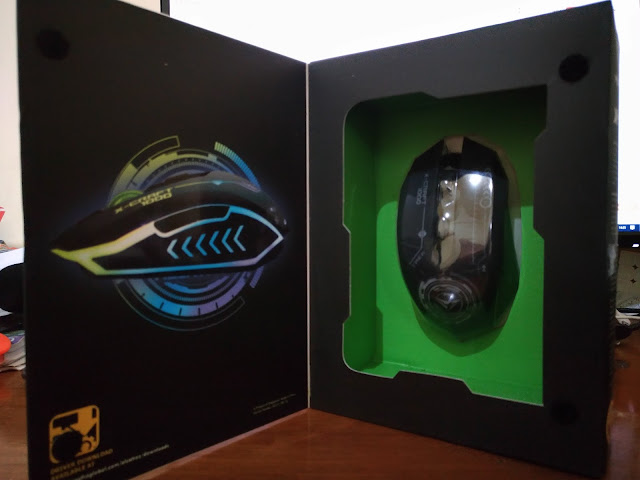 Unboxing Mouse Gaming Alcatroz X-CraftAir Series