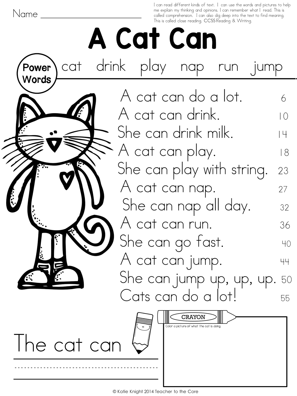 First Grade Reading Fluency Worksheets. First. Best Free