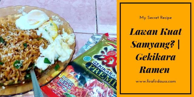 Lawan Kuat Samyang? | Gekikara Ramen Premium