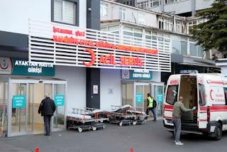 Ambulans şoförü bıçakladı