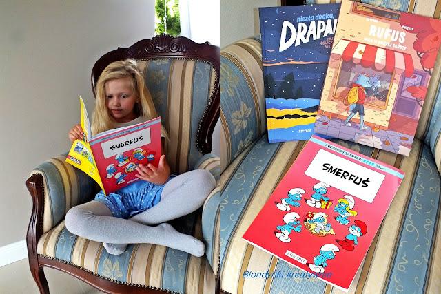 Lekka lektura dla dzieci na wakacje - komiksy