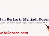 Lowongan Kerja Dosen Politeknik Negeri Indramayu Hingga 30 Mei 2017