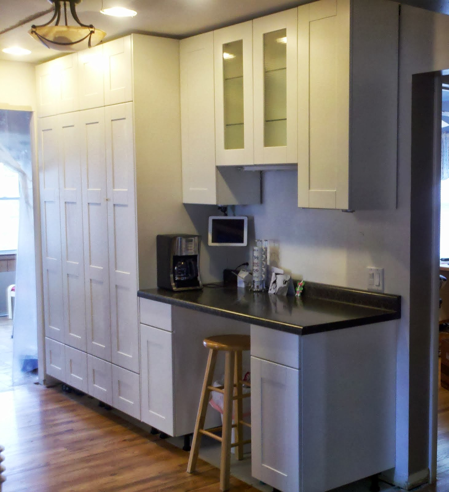 Kitchen Cabinets To The Ceiling Inspiration Howto Extend Tall Akurum Cabinet Base Unit For Floor To Ceiling . Review