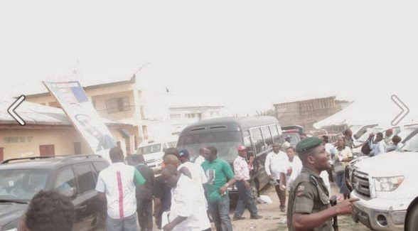 Bloody Day in Dame Patience Jonathan's Home Town in Rivers state (Photos)