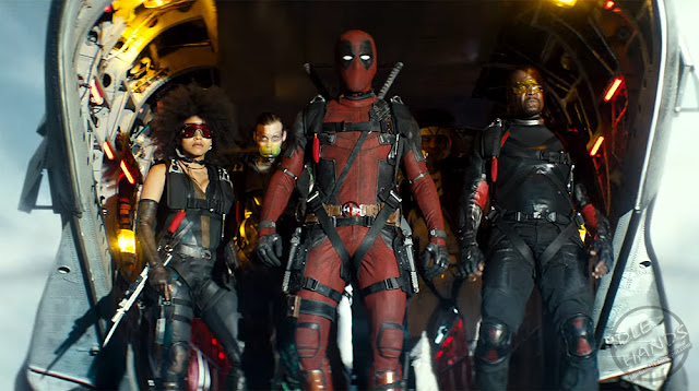 FOX Deadpool 2 Trailer Stills Deadpool and X-Force