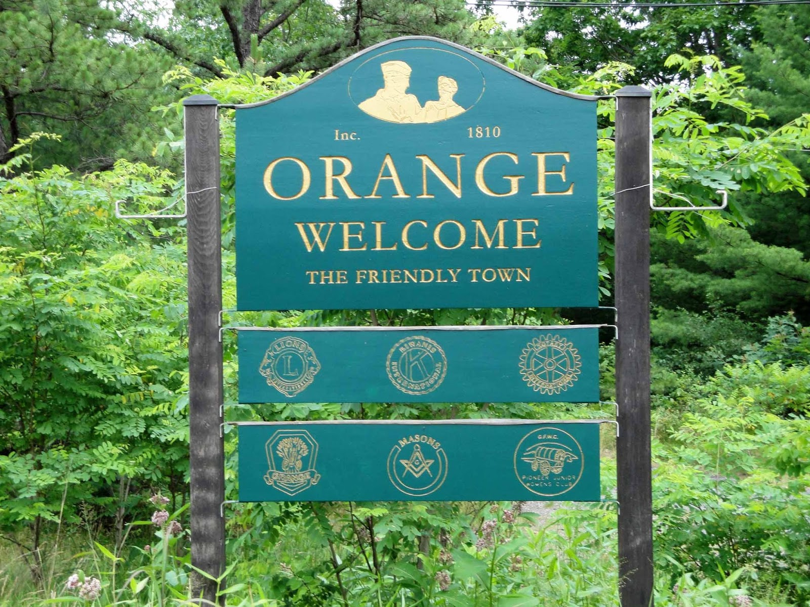 Geographically Yours Welcome: Orange, Massachusetts
