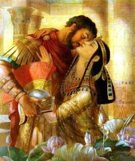 riassunto sul secondo triumvirato: marco antonio e cleopatra e l'imperatore Ottaviano Augusto