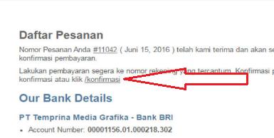gambar konfirmasi email pembayaran buku k13