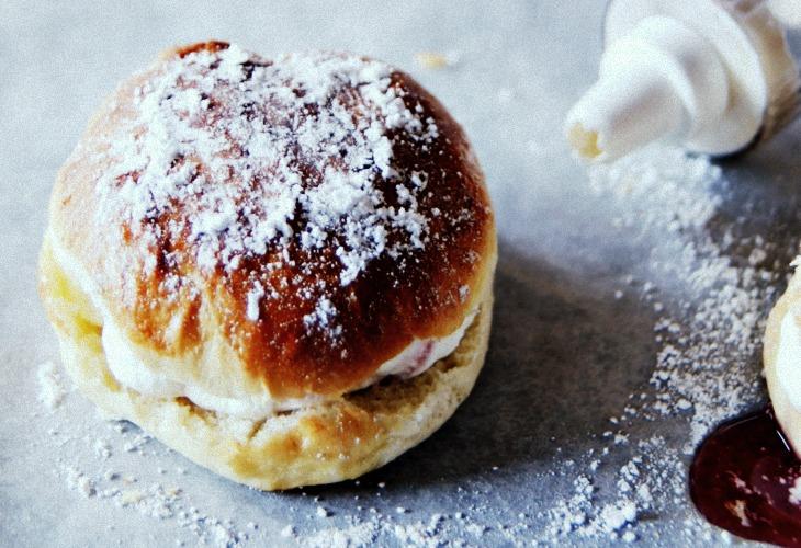 fastelavnsboller czyli norweskie pączki z piekarnika