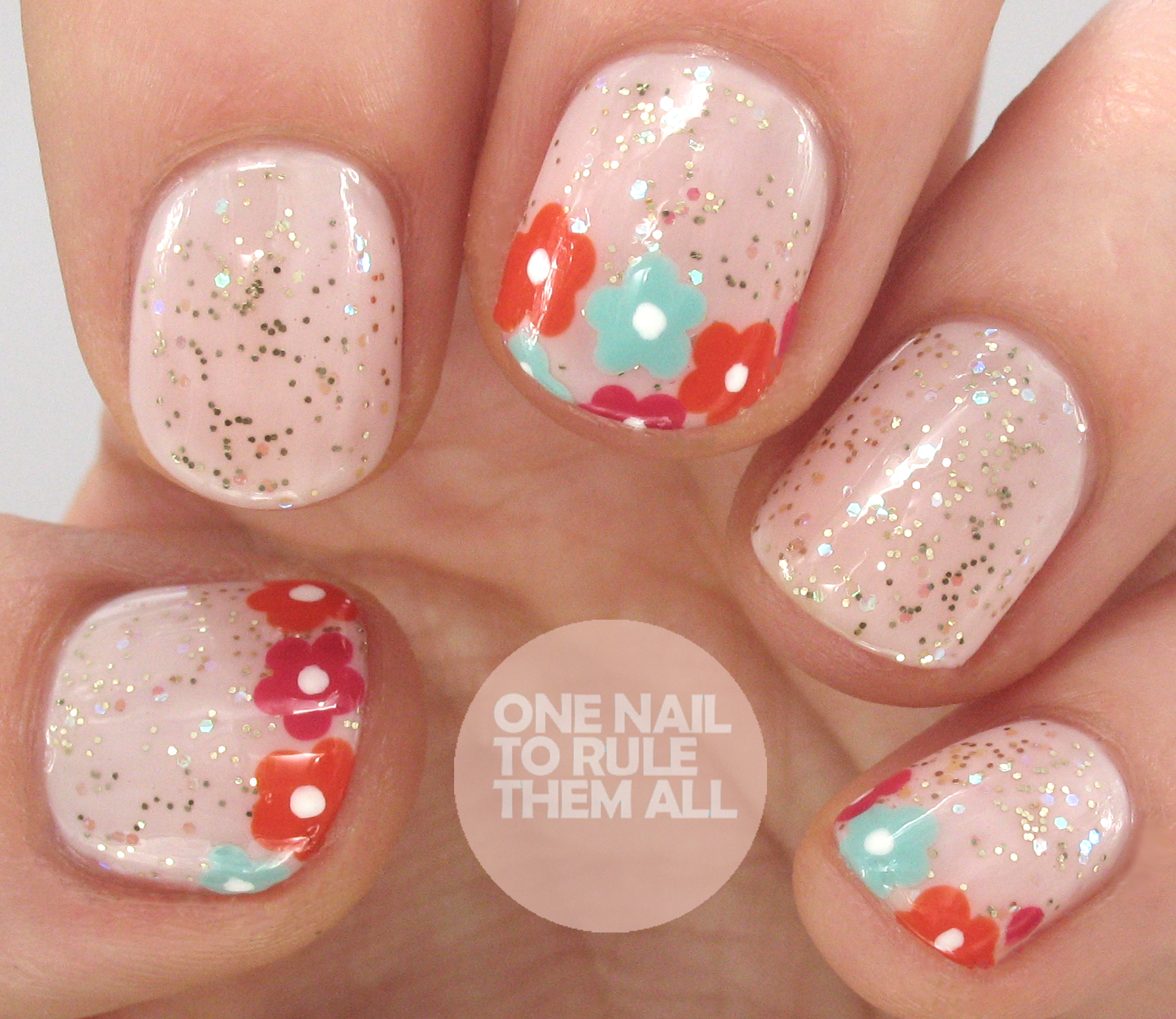 Vente Privee Art One Nail To Rule Them All Ciate X Vente Privee Sale Floral Nail Art
