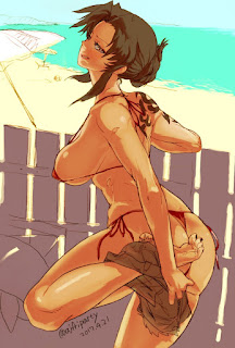 ecchi black lagoon photos
