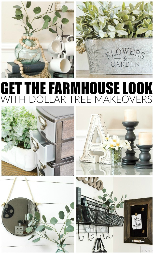Dollar tree farmhouse makeovers, best home decor projects of 2017