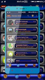 Download BBM MetalicAngel 2.12.0.11 Terbaru Gratis