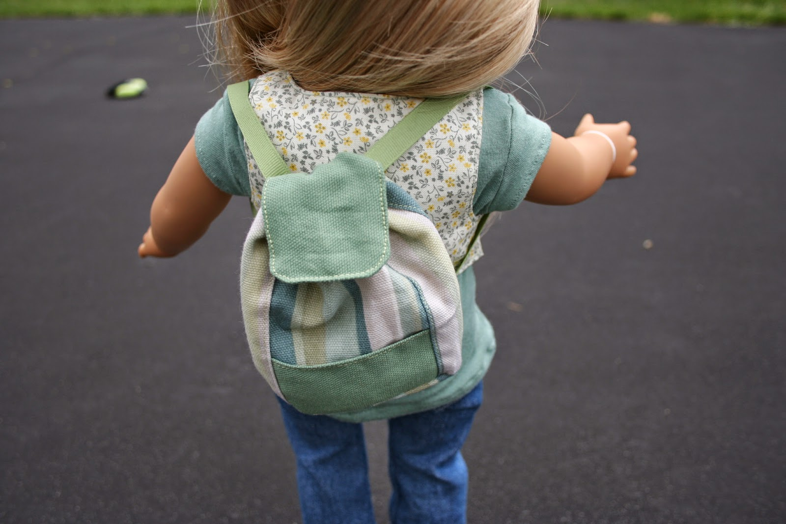 arts and crafts for your american girl doll small backpack for