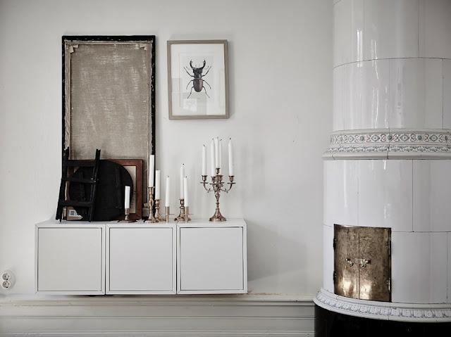 Un interior de estilo nórdico tradicional