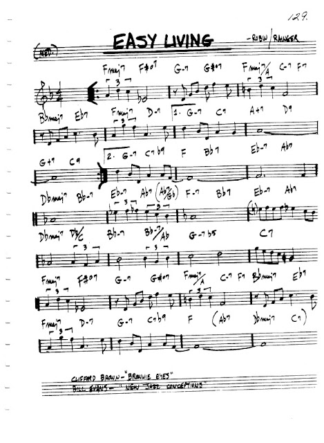 Partitura Violín Robin and Rainger