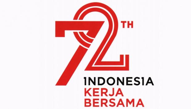 Ini Makna Logo HUT Ke-72 Kemerdekaan Indonesia