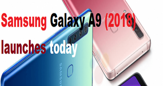 Samsung Galaxy A9 (2018) with 4 cameras to launch today
