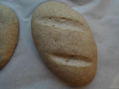 Petit pain de seigle après la deuxième levée