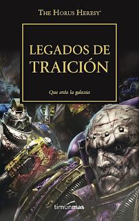 Review The Horus Heresy vol. 31 - Legados de Traición
