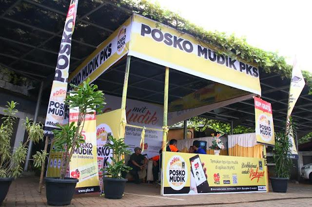 Wow ! PKS Telah Layani 30 Ribuan Pemudik Se-Indonesia