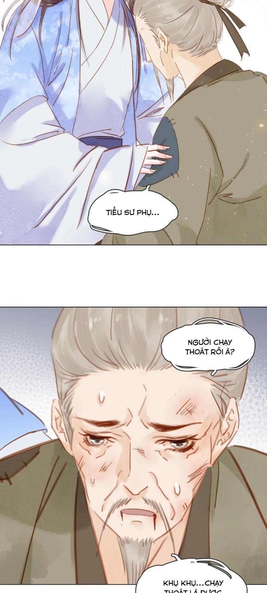 Tiểu sư phụ, tóc giả của ngài rơi rồi! chap 11 - Trang 31
