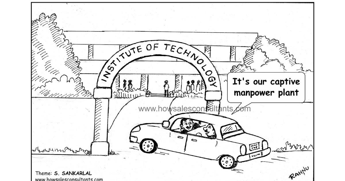 Sankarlal's Cartoons: Manpower Plant