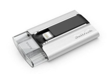 SanDisk flash memory iXpand for iOS devices
