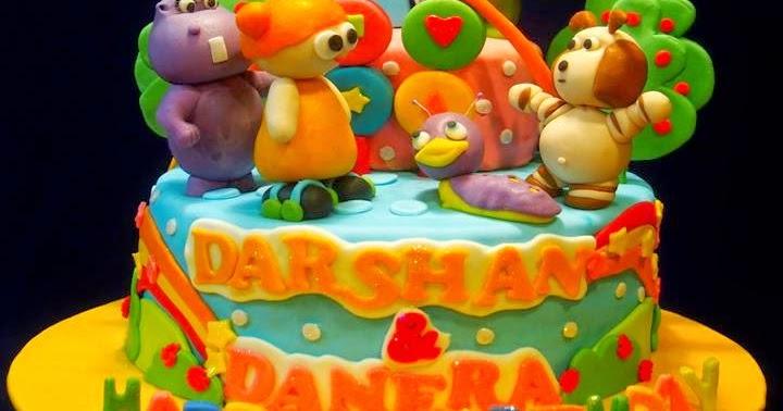 Happy Birthday Sandesh Cake