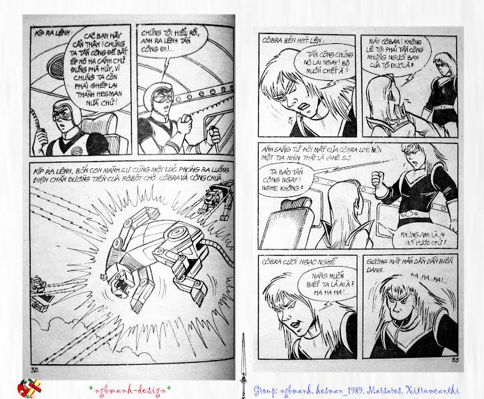 Dũng Sĩ Hesman tập 3 - mãng xà giả dạng trang 17