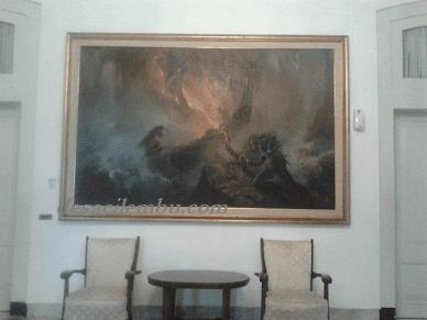 2 Lukisan Yang Ada di Dalam Istana Bogor
