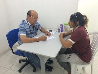 Serviço de Especialização em Saúde, Segurança do Trabalhador de Baraúna realiza consultas