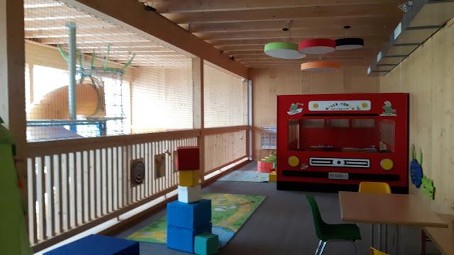 Indoor-Spielraum für die Kleinen