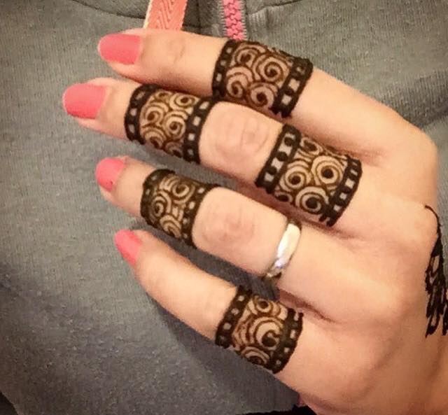 Mehndi Like Wedding Ring