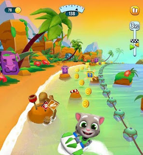 تحميل لعبة talking tom jet ski 2