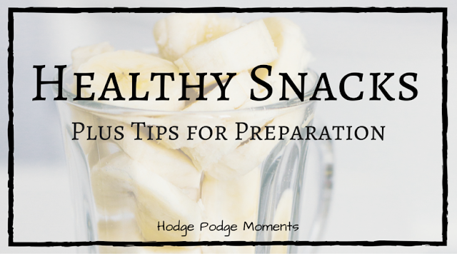 Plate for One: Healthy Snacks