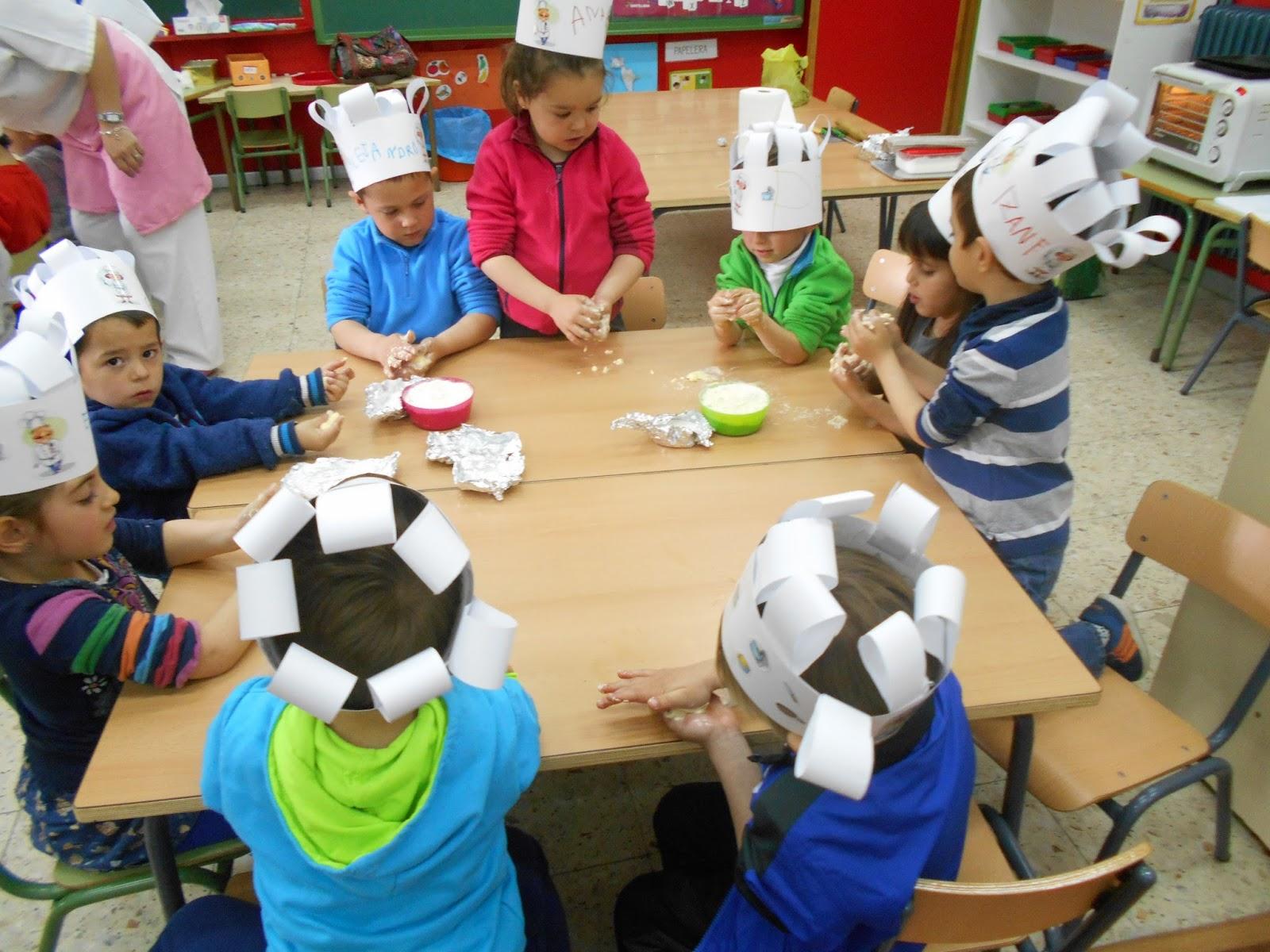el cole de in s infantil proyecto el cocinero y la