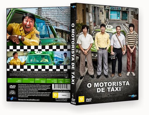 O MOTORISTA DE TÁXI DVD-R OFICIAL – CAPA DVD