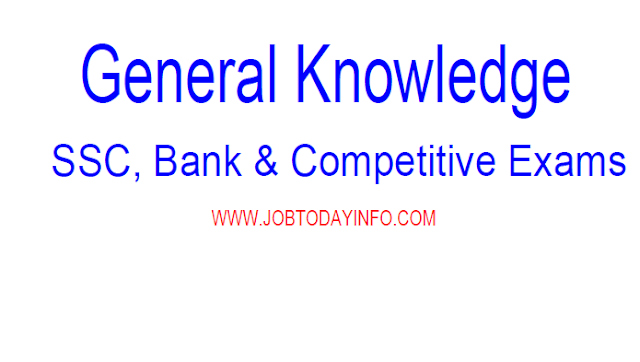 SSC General Knowledge Digest for SSC CGL, CHSL, Bank Exams & Competitive Exams