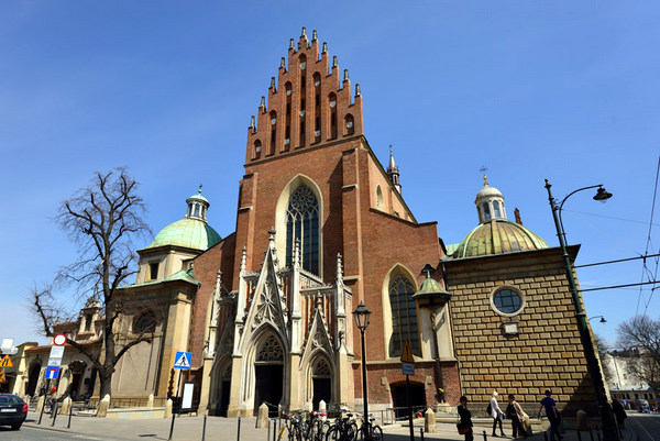 Basílica de la Santa Trinidad (Cracovia, Polonia)