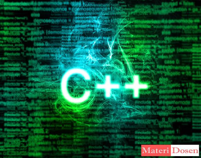 Tutorial Lengkap Belajar Bahasa Pemrograman C++ Gratis dari MateriDosen