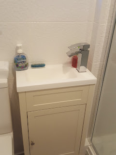 The Sink Unit in the New Bathroom