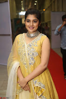 Nivetha Thamos in bright yellow dress at Ninnu Kori pre release function ~  Exclusive (34).JPG